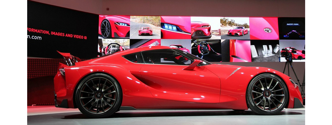 Toyota Teams Up with BMW for a Brand New Sportscar