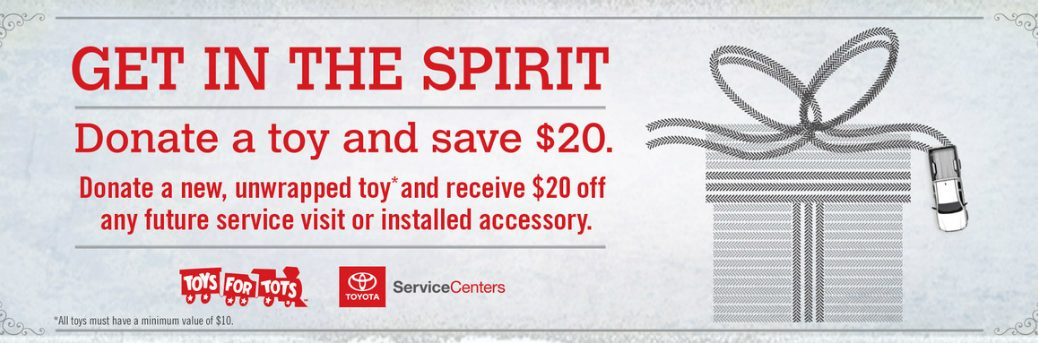 toys for tots toyota of palo alto service center donation holiday giving promotion
