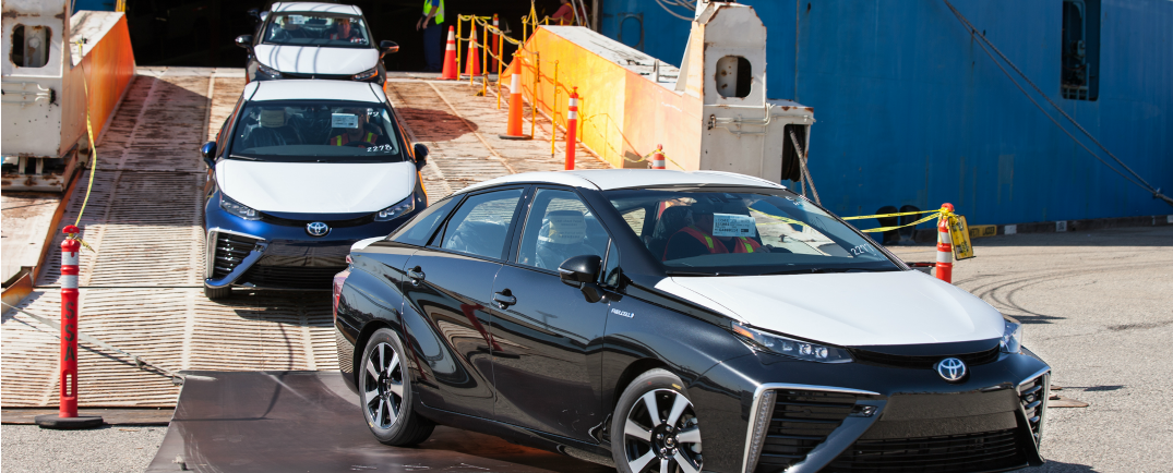 Order a Mirai and get 3 years of fuel for free and a complimentary 8-year/100,000-mile warranty