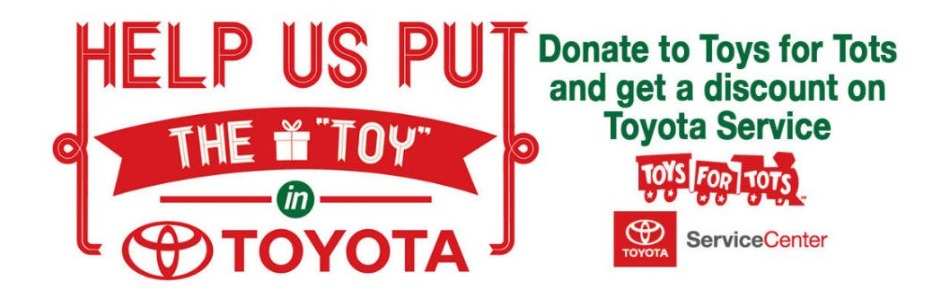 toys for tots toyota service center Toyota Palo Alto Ca