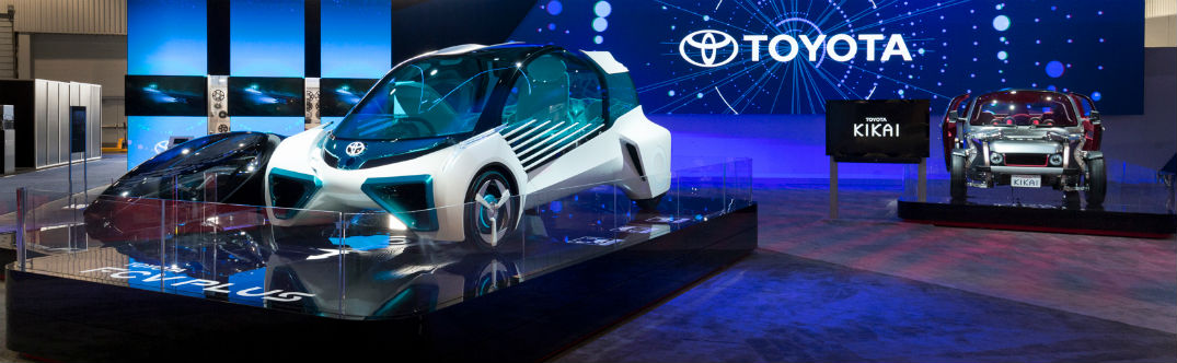 What did Toyota present at the 2016 CES?