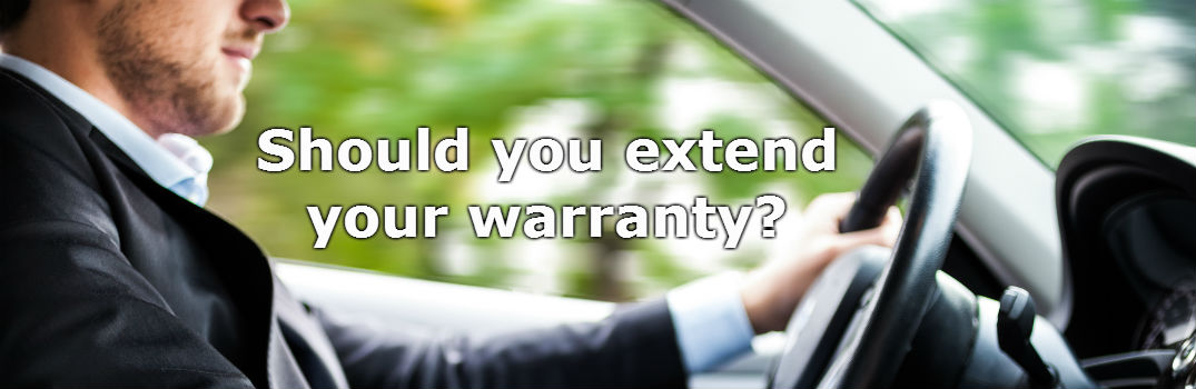 Should you extend your vehicle's warranty?