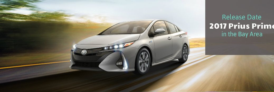 2017 Toyota Prius Prime release date in the Bay Area San Jose Palo Alto CA