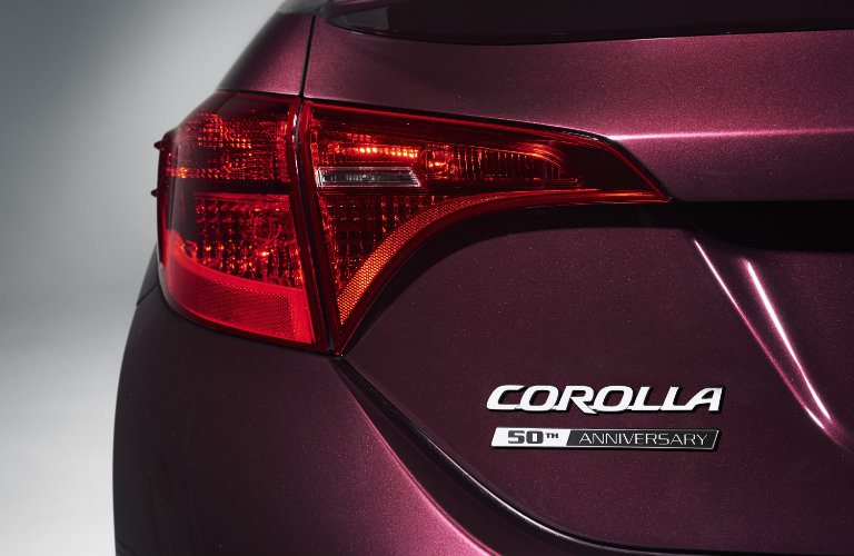 2017 Toyota Corolla Special Edition Blacl Cherry