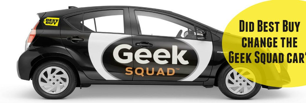 Did best buy change the geek squad car? Geekmobile Prius c