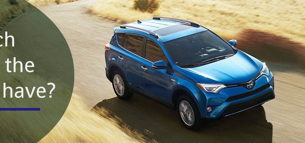How much space does the Toyota RAV4 have?