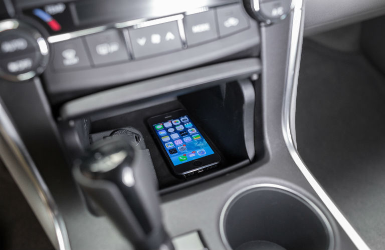 Does the Camry have a wireless charging station?