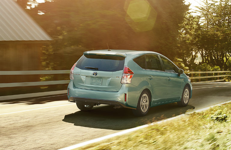 How does the Prius v compare to other Prius models?