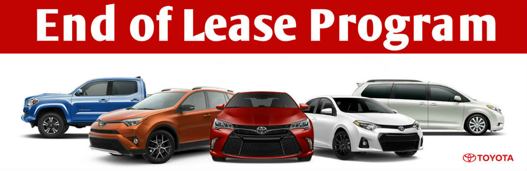 What should I do when my car lease ends?
