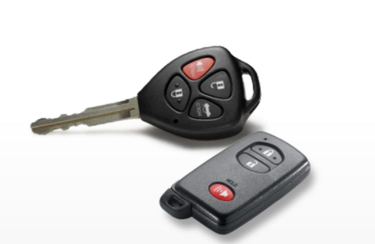 Toyota Key fob design