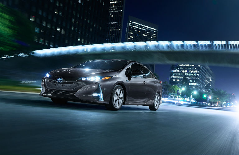 What is the expected driving range of the Prius Prime?
