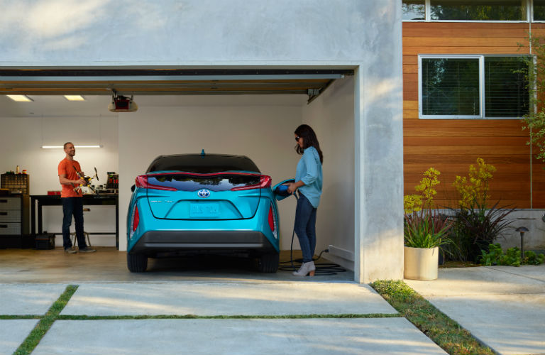 How long does the Prius Prime take to charge?