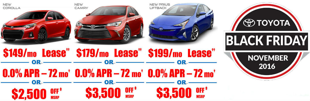Does Toyota Palo Alto Have A Black Friday Sales Event Magnussen S Toyota Palo Alto