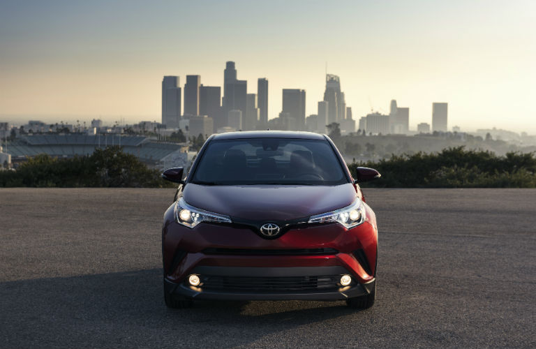 2018 Toyota C-HR front grille