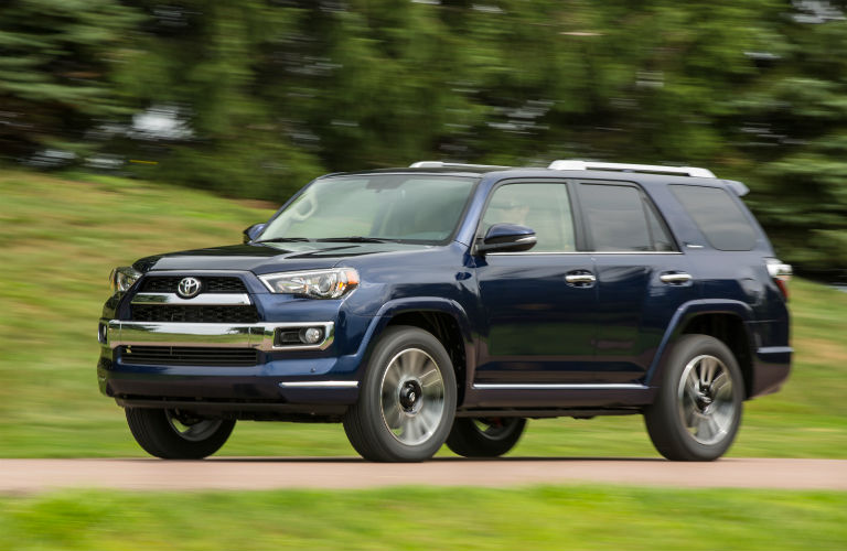 2017 Toyota 4Runner sideview