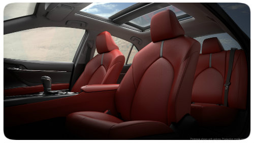 2018_Toyota_Camry seating