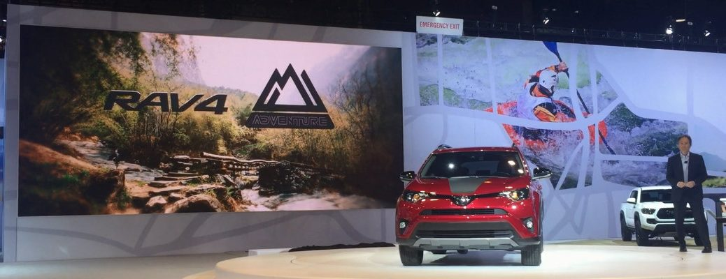 2018 Toyota RAV4 Adventure reveal Chicago Auto Show
