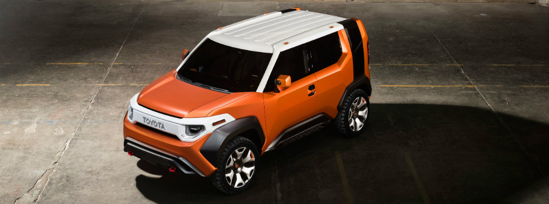 Official Images of the Toyota FT-4X Concept from NYIAS