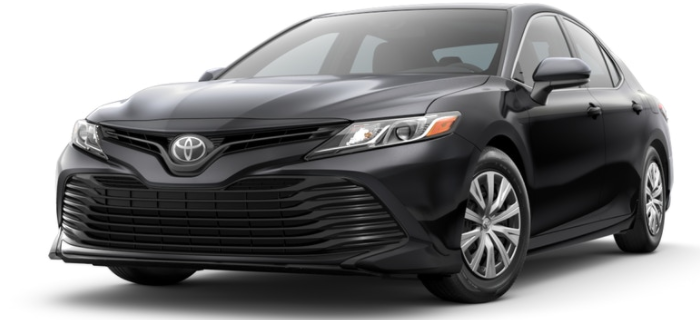 Midnight Black Metallic 18 Camry