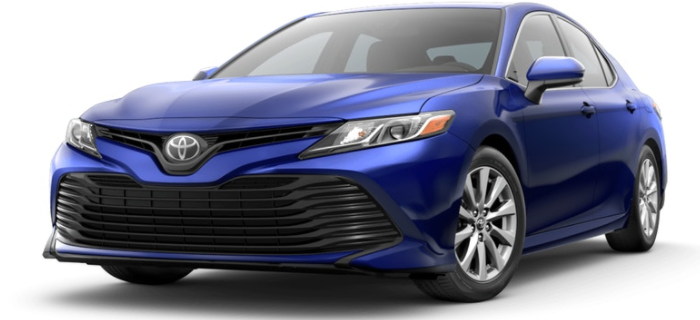 Blue Crush Metallic 18 Camry