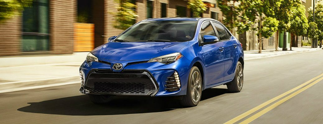 2017 Toyota Corolla fuel efficiency and maximum driving range