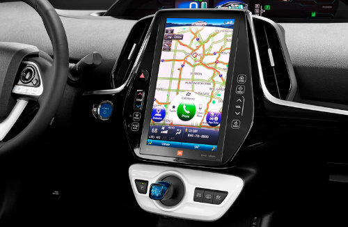 Toyota EnTune connectivity and infotainment features