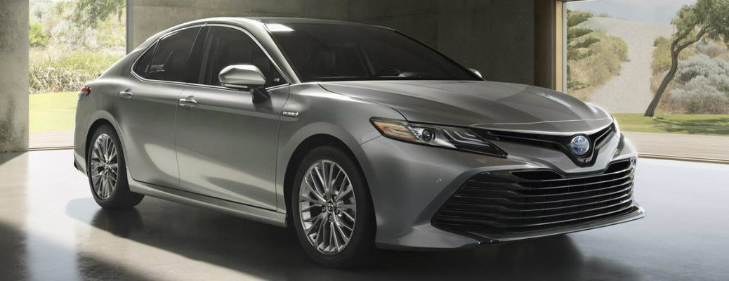2018 Toyota Camry active driver assistance and safety features