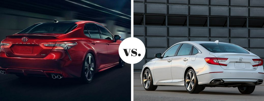 What are the differences between the Toyota Camry and Honda Accord