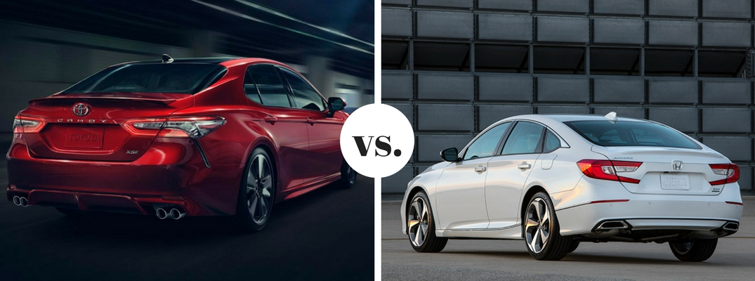 What are the differences between the Toyota Camry and Honda Accord?