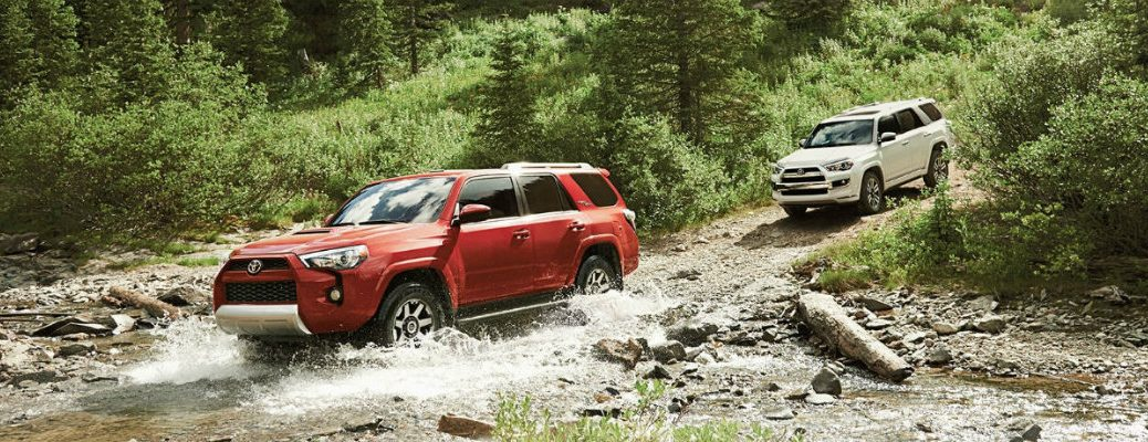 2018 Toyota 4Runner cargo volume and towing capacity