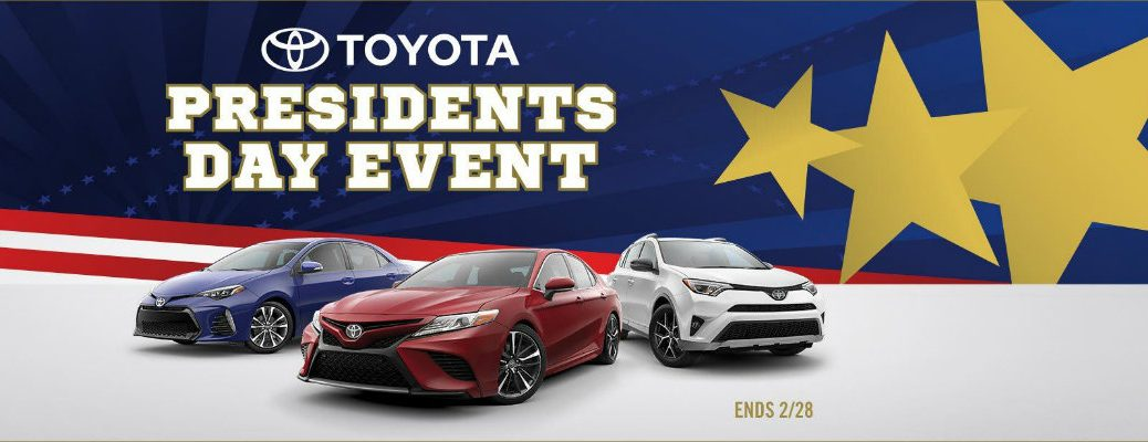 President's Day Sales Event at Toyota Palo Alto