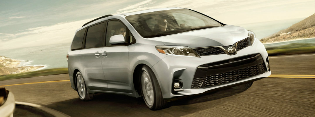 How much can you store inside the 2019 Toyota Sienna?
