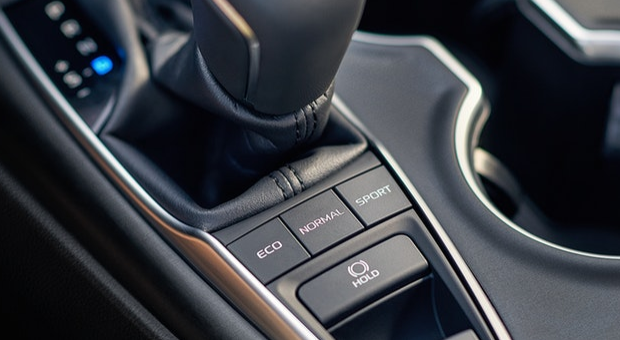 Selectable drive modes of 2019 Toyota Camry