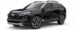 2019 Toyota RAV4 in Midnight Black Pearl with Ice Edge Roof