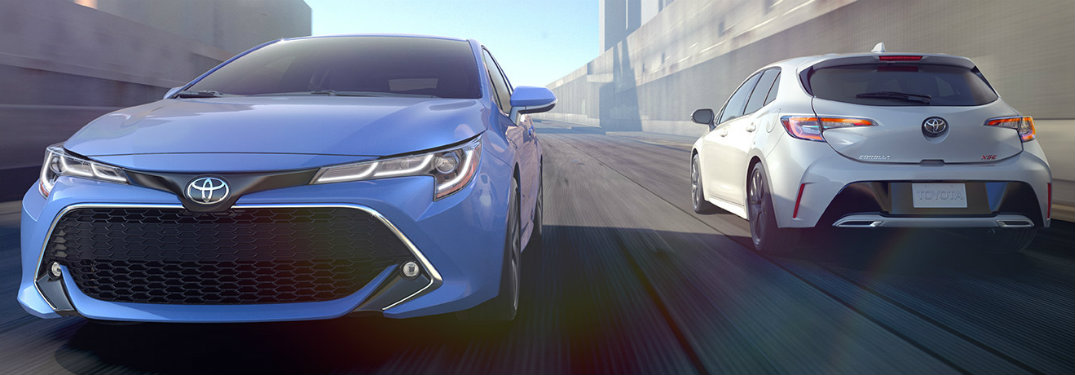 How far can you travel with the 2019 Toyota Corolla lines?