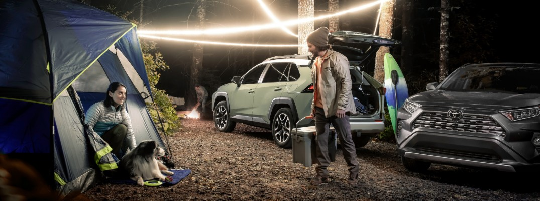 How much can you fit inside the 2019 Toyota RAV4?