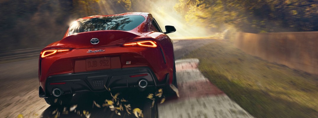 What will your color options be for the 2020 Toyota Supra?