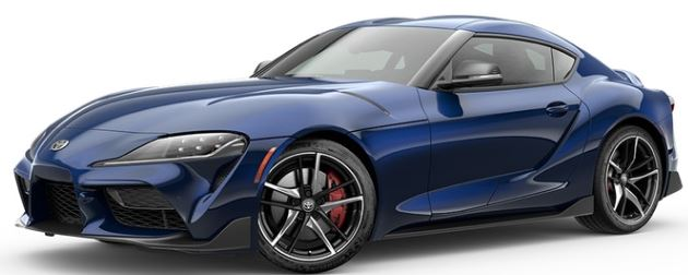2020 Toyota Supra in Downshift Blue