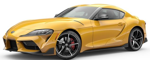 2020 Toyota Supra in Nitro Yellow