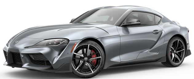 2020 Toyota Supra in Turbulence Gray