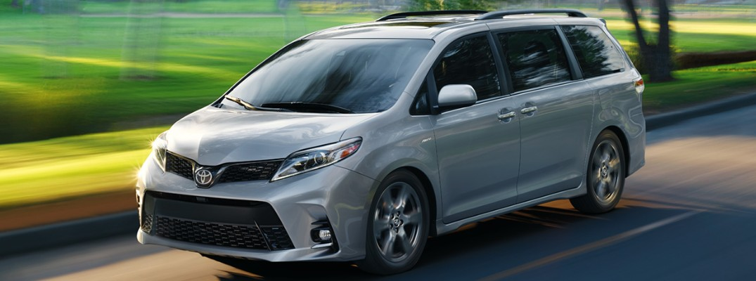 How versatile is the new 2020 Toyota Sienna?