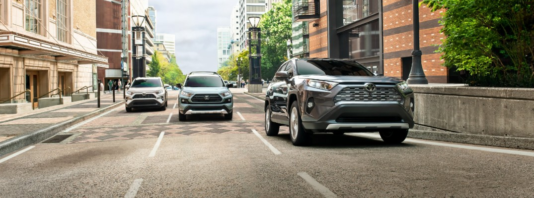 Get a complete look at the new 2019 Toyota RAV4 Hybrid!