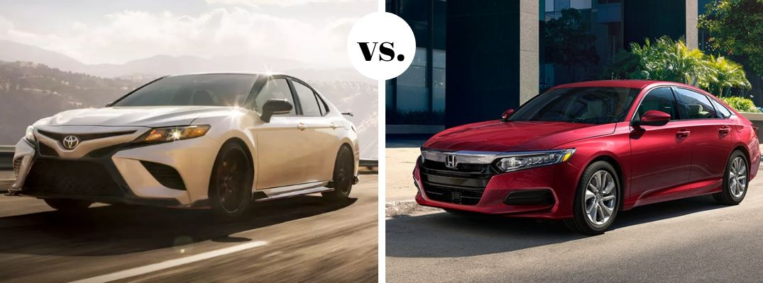 What are the differences between the 2020 Toyota Camry and 2020 Honda Accord?