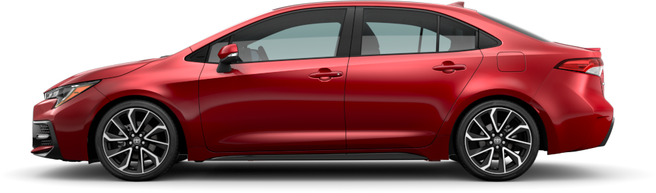 2020 Toyota Corolla Barcelona Red Metallic Exterior Color Option