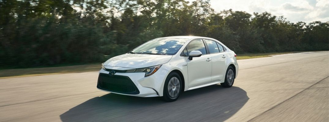 What Interior and Exterior Color Options Are Available for the 2020 Toyota Corolla?