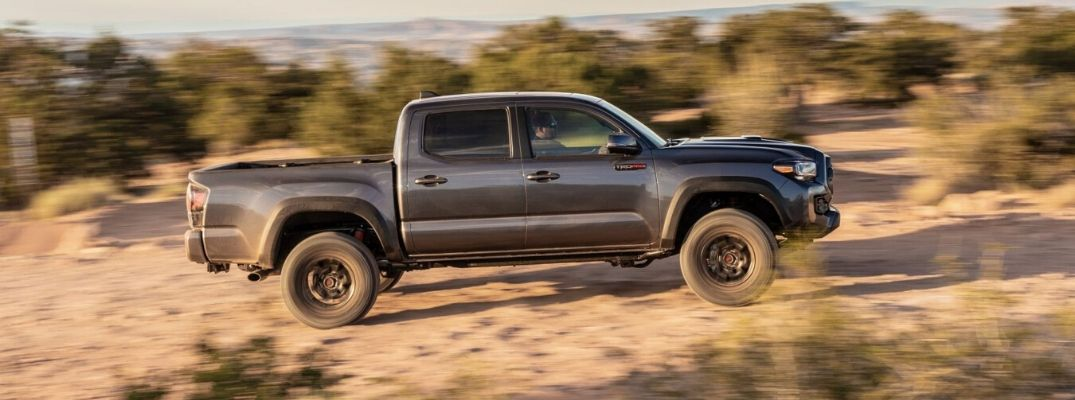 How Good is the 2020 Toyota Tacoma TRD at Off-Road Driving?