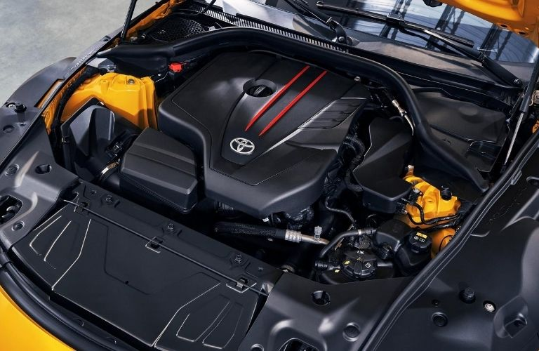 Image of one of the 2021 Toyota Supra engine options