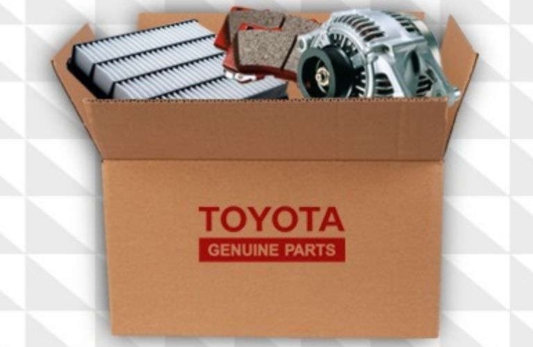 Image of a Toyota Genuine Parts box