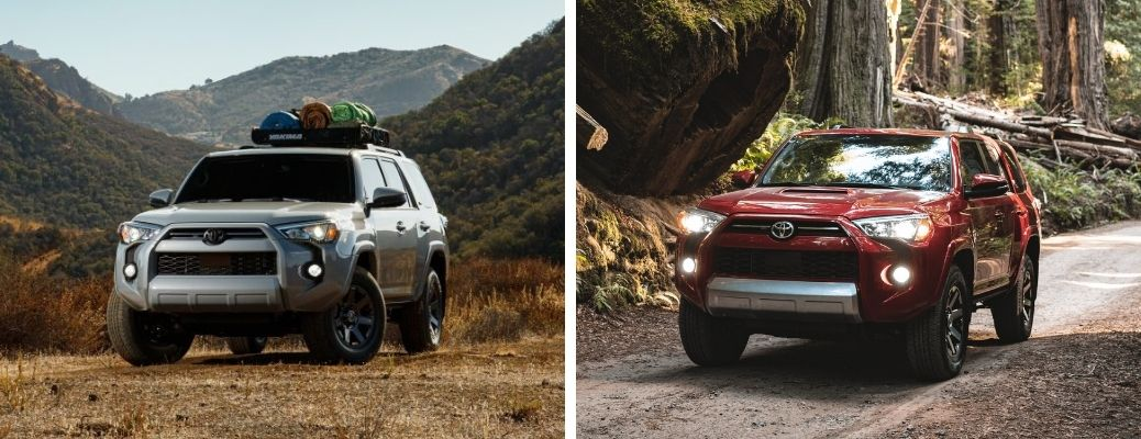 Compare the 2021 Toyota 4Runner Trail Special Edition vs the TRD Off-Road