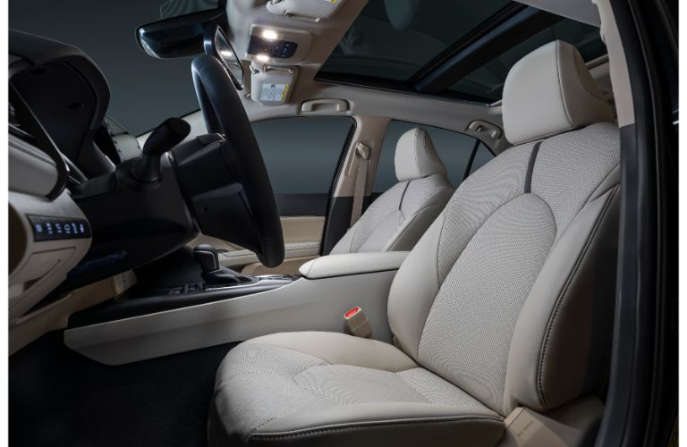 Interioe seats for the 2021 Toyota Camry